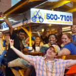 memphis pub crawl, memphis party bike